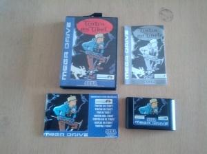 Tintin Au Tibet - Sega Mega Drive
