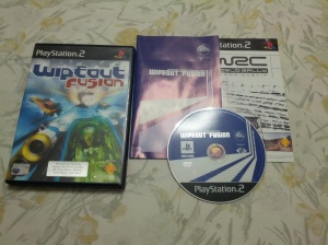 Wipeout Fusion - Sony Playstation 2