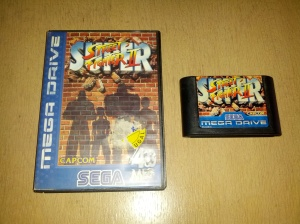 Super Street Fighter II - Sega Mega Drive