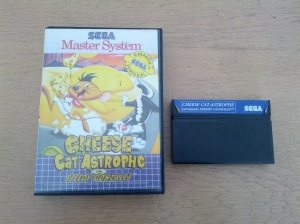 Cheese Cat-Astrophe - Sega Master System