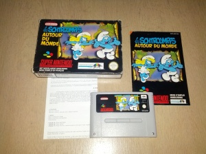 The Smurfs Travel the World - Super Nintendo