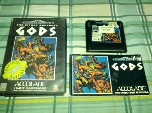 Gods - Sega Mega Drive