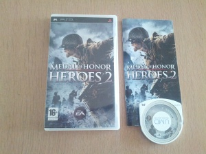 Medal of Honor Heroes 2 - Sony Playstation Portable