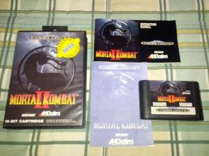 Mortal Kombat II - Sega Mega Drive