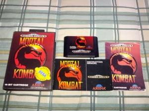 Mortal Kombat - Sega Mega Drive