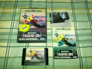 Super Hang-On - Sega Mega Drive