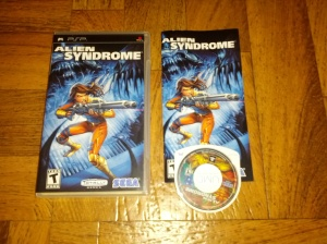 Alien Syndrome - Sony Playstation Portable