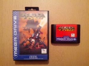 Red Zone - Sega Mega Drive