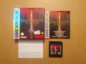 Shadowgate Classic - Nintendo Gameboy Color