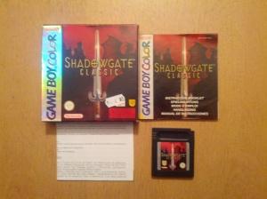Shadowgate Classic - Nintendo Gameboy Color
