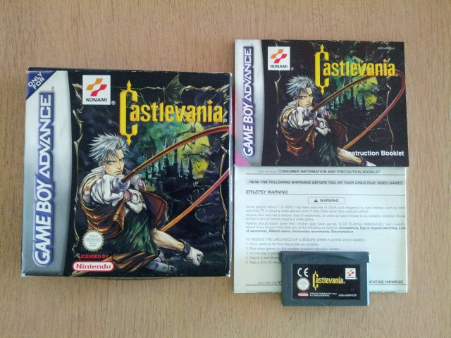 _Castlevania Circle of the Moon - Nintendo Gameboy Advance