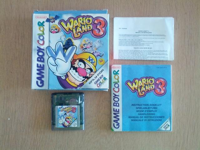 Wario Land 3 - Nintendo Gameboy Color