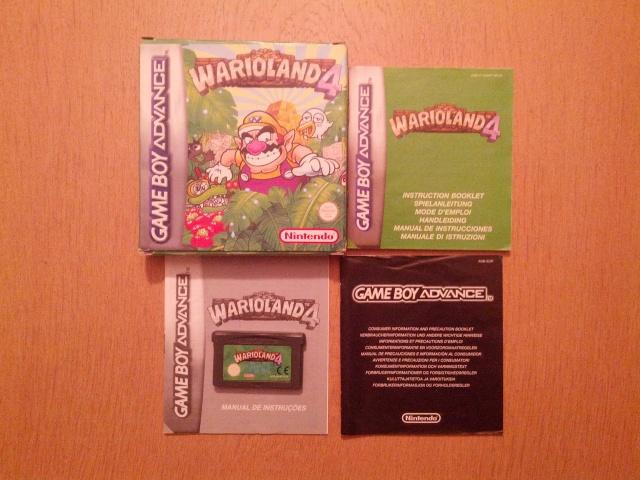Wario Land 4 - Nintendo Gameboy Advance