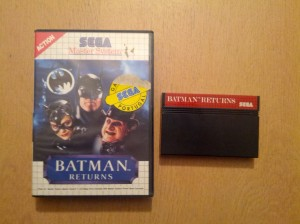 Batman Returns - Sega Master System