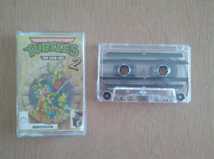 Teenage Mutant Hero Turtles The Coin-Op - ZX Spectrum