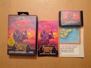 Phantasy Star II - Sega Mega Drive