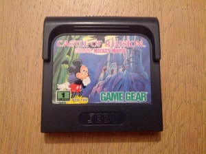 Castle of Illusion - Sega Game Gear