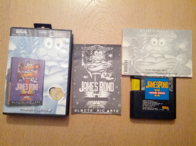James Pond II Robocod - Sega Mega Drive