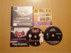 Rage Racer - Sony Playstation