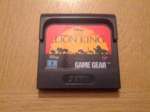 The Lion King - Sega Game Gear