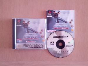 Jogo com caixa e manual, versão Platinum