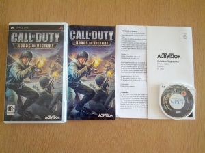 Call of Duty Roads to Victory - Sony Playstation Portable