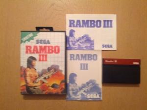 Rambo III - Sega Master System