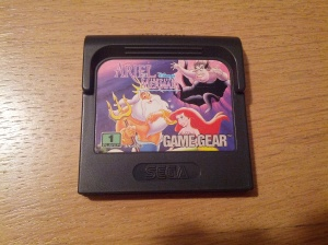 Ariel the Little Mermaid - Sega Game Gear