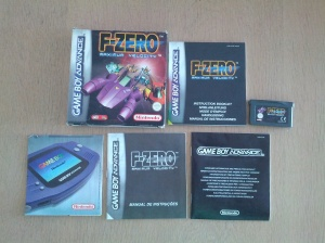F-Zero Maximum Velocity - Nintendo Gameboy Advance