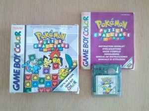 Pokémon Puzzle Challenge - Nintendo Gameboy Color