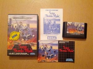 Super Thunder Blade - Sega Mega Drive