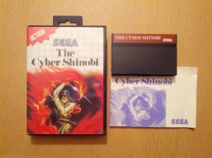 The Cyber Shinobi - Sega Master System
