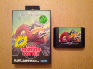 Bio Hazard Battle - Sega Mega Drive