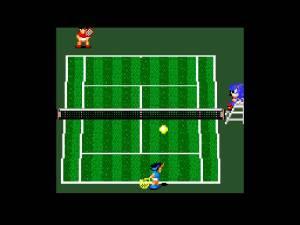 Qualquer semelhança com o Tennis da NES é mera coincidência... ou não