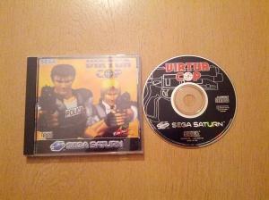 Virtua Cop - Sega Saturn