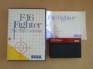 F-16 Fighter - Sega Master System