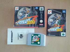 International Superstar Soccer 2000 - Nintendo 64