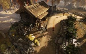 O jogo está repleto de paisagens fantásticas e pequenos detalhes