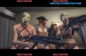 Benvindos ao Paradise mode. Aquele ser ali no meio é o segundo boss.