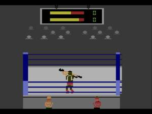Alguns jogos são um feito tecnológico impressionante, o que não é o caso deste Title Match Pro Wrestling
