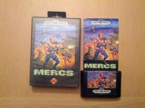 Mercs - Sega Mega Drive