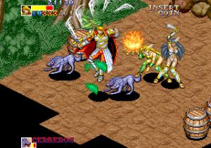 Dungeon Master é uma estranha mistura entre RPG, dungeon crawler e beat 'em up. Não conhecia de todo!