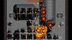 A nível gráfico a única coisa que me chateia um pouco é a forma modular como os edifícios explodem