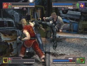 A inclusão de personagens jogáveis como o Paul de Tekken pareceu-me interessante e seria bom ter visto algumas mais