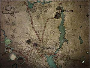 """A partir de certa altura vamos poder usar o mapa e o mecanismo de """"fast travel"""" para nos deslocarmos rapidamente para várias localizações."""