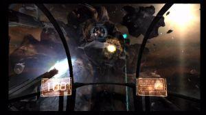 Espero que tenham gostado do minijogo de disparar sobre asteróides do primeiro jogo... é que aqui temos de repetir a dose.