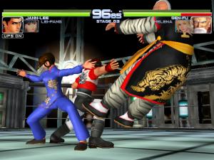 Os combates Tag Team permitem alguns golpes especiais em que 2 lutadores colaboram
