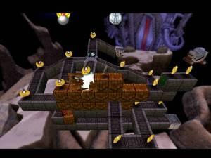 Apesar de os níveis serem em 3D, continuamos a poder movimentar-nos apenas num caminho específico