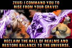 Rise from your grave! Porque Zeus está demasiado ocupado para resolver os seus problemas directamente