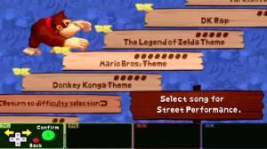 As músicas da Nintendo estão também aqui presentes e acabam por ser bastante divertidas!
